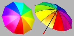 Umbrella - Free 3D Model by parrotdolphin