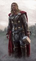 Thor Colour Test by ScoffsArt