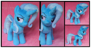 Trixie Custom Plush by Nazegoreng