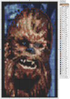 Star Wars - Chewbacca by Makibird-Stitching