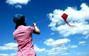 Let's Go Fly a Kite by thanxforthefish