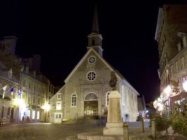 Place Royale at Night by blindtetra
