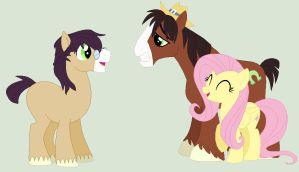 MLP Next Generation: TroubleShy Family by CuteiKitty