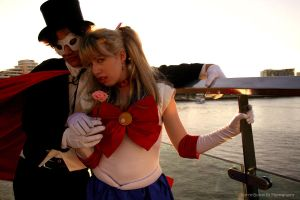 Sailor Moon: Sunset Lovers by kerryn-butterfly
