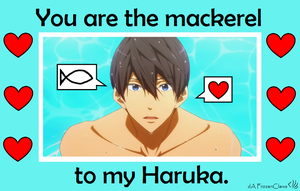 Free! Valentine: Haruka Loves Saba by FrozenClaws