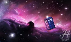 Tardis in Space by Arkarti