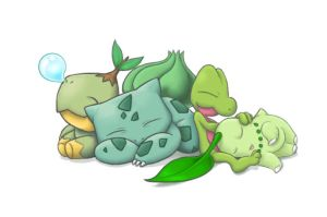 Grass Starters by Hewryu