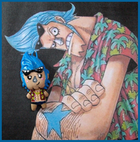 Chibi-Charms: Franky is SUPER by MandyPandaa