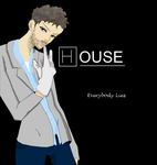 Dr Gregory House by wallflower2525