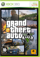 Grand Theft Auto V Xbox 360 Cover by InterGlobalFilms