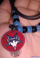 Vore Baphomet Necklace! by beefyrae