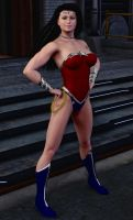 Wonder Woman New52 by Daniel-Remo-Art