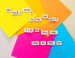 The Daily Magnet #153 by FridgePoetProject