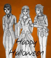 The Infernal Devices Halloween by ShadowRainLion