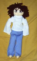 L plushie from DeathNote by wifey