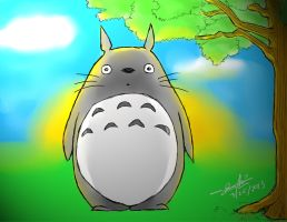 Totoro by CanineCake