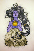 Eris the Goddess of Discord by fleance