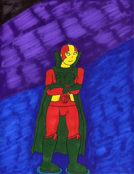 Mr. Miracle color by preceptorexe