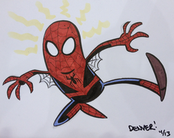 Spider-Man C2E2 commission by thecheckeredman