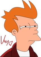 Fry is mad at you by KoRnyKattos