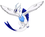 Primal / Mega Lugia by clinclang