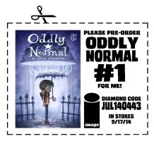 Pre Order Oddly Normal Issue 1 by OtisFrampton