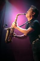 The Saxophonist Michael Paulo by syuryow