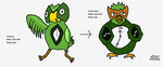 Owl Fakemon: Contest by Samjoos