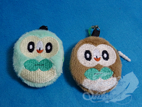 New Rowlet Charms by FeatherStitched