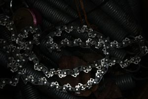Stock 0098 - Bicycle Chain by EverythingIsInStock