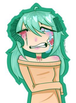 Goretober Day 7: Stiches by stars-and-static