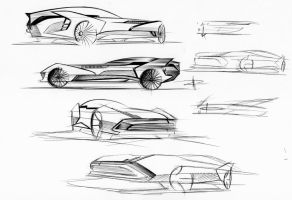 Batmobile sketches 2 by fjagcars