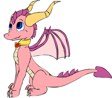 Ember the dragon by XD001Pika