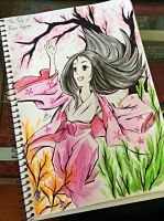 The Tale of Princess Kaguya by FabledCreationZ