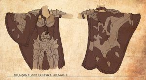 Dragonblood Leather Armour by isso09