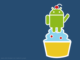 Android Version Cupcake by amaya-chibi