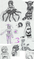 Sketch Dump 3 by PainfulSuffering