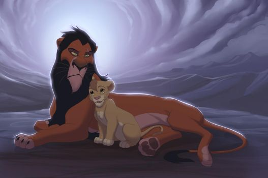 Scar and Tamu by we-were-in-love