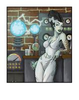 Night at the Lab: Colored by Patchwork-Gwyllgi