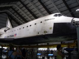 Endeavour Space Shuttle 2 by fuzzybuttbunny