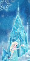 Queen Elsa by chikorita85