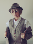 APH: Somewhere Along the History Line 2' by a-nouki