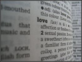 Words -love- by bwaa