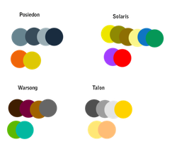 Character Color Schemes by WingsForHire