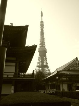 Tokyo Tower by eternalsnow-chrys