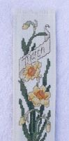 Daffodil Bookmark  Outside 2 by snuffleuppagus