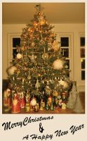 Christmas Tree Card 2013 by ArcanePhotographer