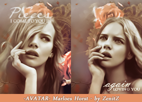 2 Avatars  Marloes Horst by ZenitZ