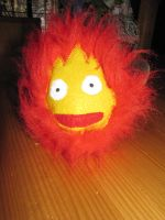 Calcifer plush by JaninaKeks