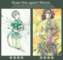 Draw this again -Meme by Cherriku